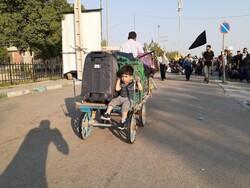 وضعیت ترافیک در سطح شهر مهران