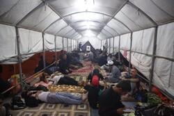 برپایی بیش از ۵۰ باب چادر در نجف توسط سازمان بهشت زهرا (س)