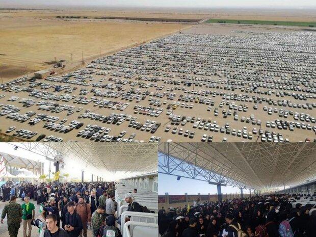تصاویر هوایی از مهران