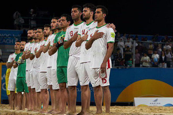 Iran soccer team wins bronze in 2019 World Beach Games