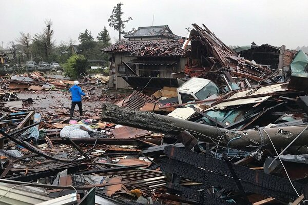 VIDEO: Strong winds hit Japan's east coast as Typhoon Hagibis approaches