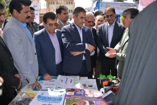 نمایشگاه توانمند سازی صنایع غذایی کهگیلویه و بویراحمد افتتاح شد