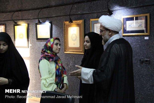 نمایشگاه نگارگری نگارستان خیال در نگارخانه فانوس