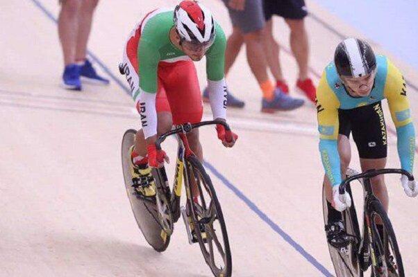 إيراني يحرز ميدالية فضية في بطولة آسيا للدراجات الهوائية