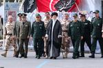 حضور رهبر انقلاب در دانشگاه افسری امام حسین(ع)