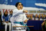 کسب مدال نقره کاتای ساحلی توسط فاطمه صادقی در قطر