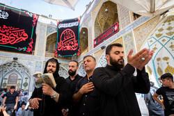 حرم حضرت علی علیہ السلام میں زائرین کا حضور