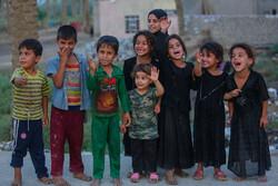 کار جالب کودکان عراقی در طریق العلما