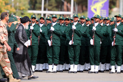 Leader participates in graduation ceremony at officer training Uni.