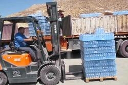 ارسال ۲۵۰ هزار بطری آب معدنی برای زائران اربعین حسینی