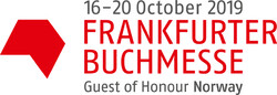 A logo for the Frankfurt Book Fair 2019.