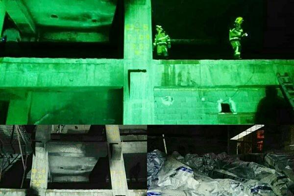برجهای فرهنگیان قزوین در آتش سوخت
