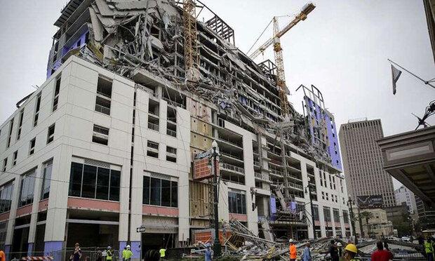 امریکہ میں زیرِ تعمیر ہوٹل کی عمارت گرنے سے 2 افراد ہلاک