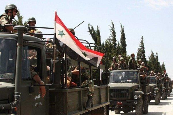الجيش السوري يرسل تعزيزات إلى شمال البلاد