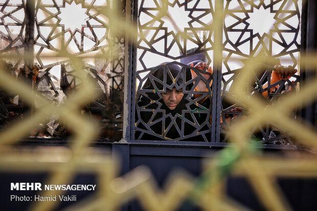 کوچه پس کوچههای نجف در ایام اربعین حسینی