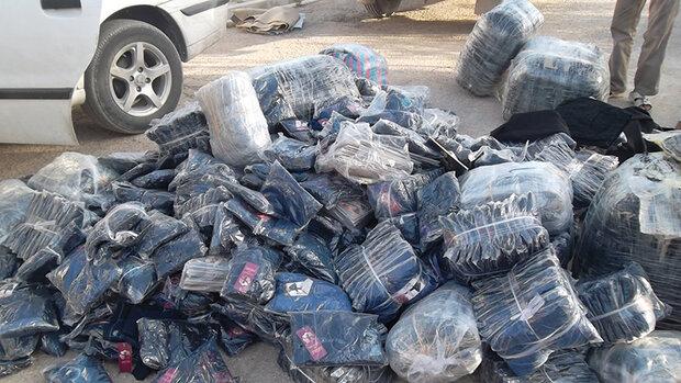 محکومیت ۱۹۰ میلیون ریالی قاچاقچی البسه در قزوین