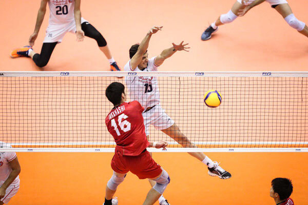 Iran loses to Japan 3-1 at FIVB World Cup