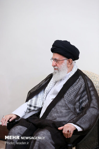 Iranian Leader's meeting with Pakistani PM