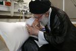 صور من زيارة قائد الثورة الاسلامية لآية الله مكارم شيرازي / صور