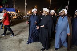 حضور رئیس سازمان تبلیغات اسلامی در مرز شلمچه