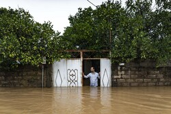 Flood hits Gilan prov., N Iran