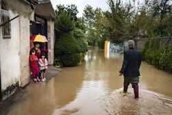 گیلان کے ضلع رودسر میں سیلاب سے تباہی