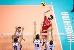 عبادیپور امتیازآورترین بازیکن ایران مقابل ایتالیا شد