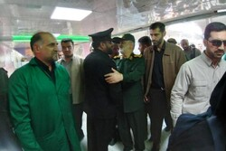 سردار سلامی وارد مرز شلمچه شد