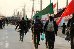 وضعیت ورود و خروج  زائران طی ظهر دوشنبه در مرز مهران