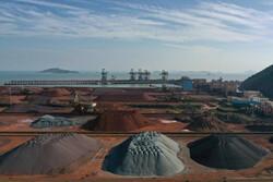 واردات سنگ آهن چین به بالاترین سطح ۲۰ ماهه رسید