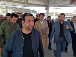 فیلم بازدید وزیر اطلاعات از مرز مهران