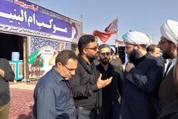 رئیس سازمان تبلیغات اسلامی در جمع هنرمندان تئاتر خیابانی حاضر شد