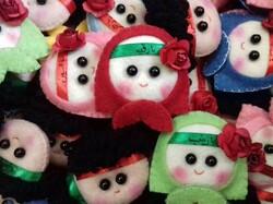 عروسکهایی با تم وحدت/ هدیه عروسکساز ایرانی به راهیان کوچک کربلا