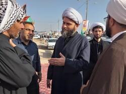 حضور رئیس سازمان تبلیغات اسلامی در مرز چذابه