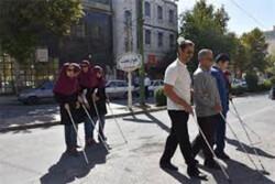 راه اندازی سیستم آلارم هوشمند عبور نابینایان از خیابان در تهران
