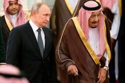 ریاض میں روسی صدرپوتین کا استقبال