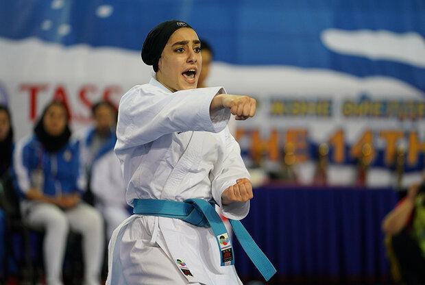 Iran's Sadeghi wins silver in karate kata at ANOC World Beach Games