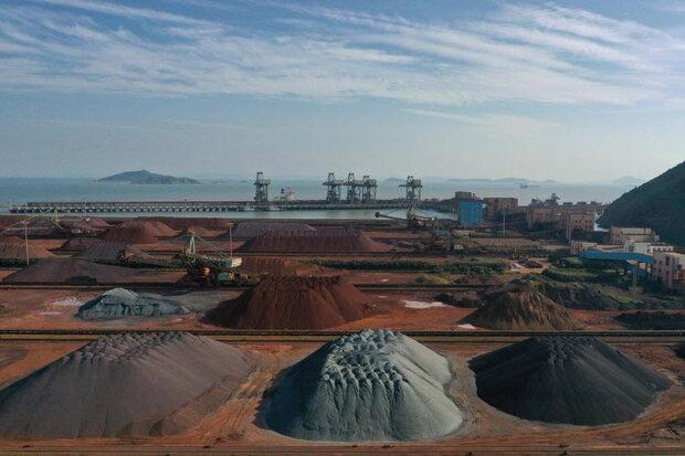 چین واردات سنگ آهن از هند را ۹۰ درصد افزایش داد