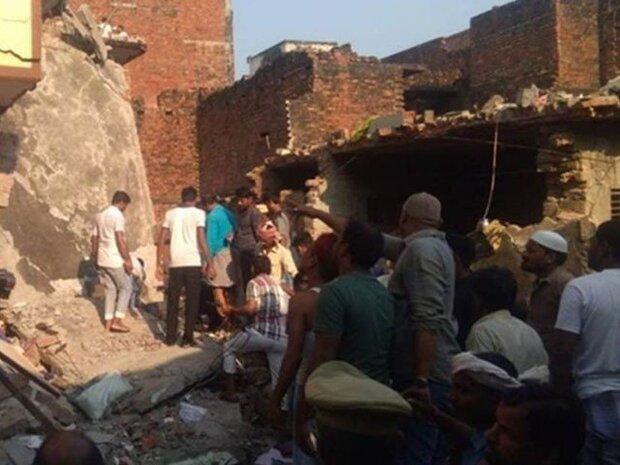 بھارت میں گیس سلنڈر پھٹنے سے 13 افراد ہلاک