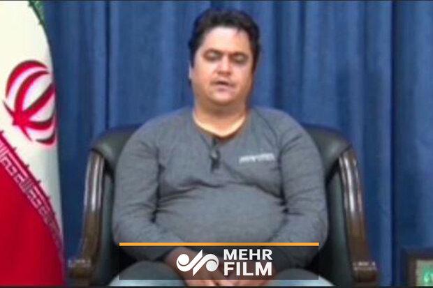 اولین تصاویر از بازداشت و اعترافات روح الله زم