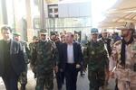 فرمانده نیروی زمینی ارتش از مرز مهران بازدید کرد