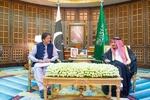 ملک سلمان و عمران خان درباره مسائل منطقه گفتگو کردند