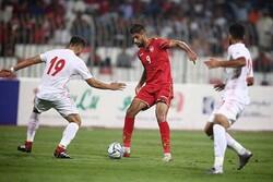 دیدار تیم ملی فوتبال ایران و بحرین