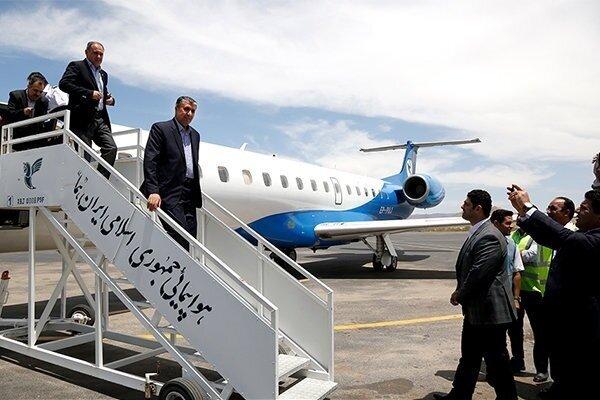 Iranian roads min. arrives in Turkmenistan for bilateral talks