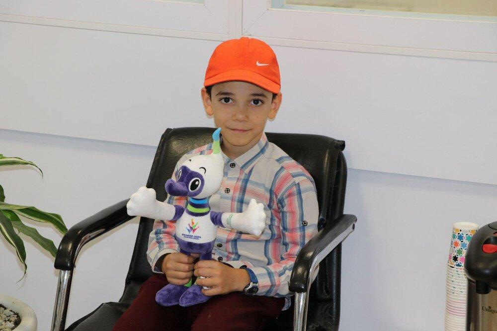 Bright future ahead for Iranian child prodigy
