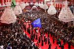 کربلائے معلی میں اربعین سے قبل کئي ملین زائرین کا اجتماع