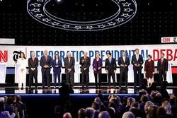 حمله علیه سیاست خارجی ترامپ درشب داغ رقابت انتخاباتی دموکراتها