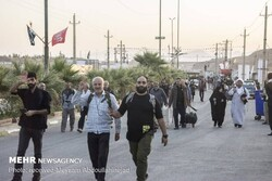 رشد ۶۵ درصدی آمار زوار اربعین در کرمانشاه