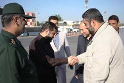 فرمانده قرارگاه مرزی ستاد راهنمای زائر اربعین کشور وارد اهواز شد