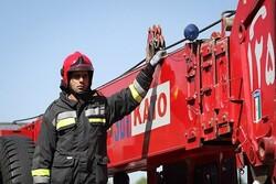آتشنشانان باز هم فرشته نجات شدند